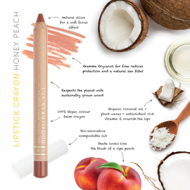 Honey Peach Lipstick Crayon