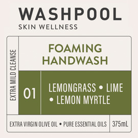 Lemongrass · Lime · Lemon Myrtle Foaming Handwash [01]