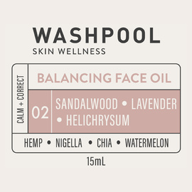 NEW! Balancing Face Oil · Travel Size · 15ml [02]