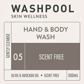 Scent Free Hand & Body Wash [05]