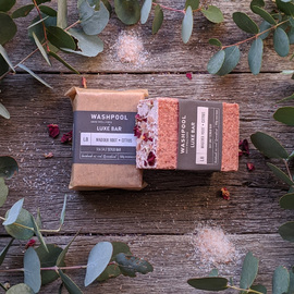Madder Root · Citrus [Awakening Sea Salt Scrub Bar] [L8]