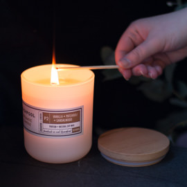 Vanilla · Patchouli · Sandalwood Aromatic Candle [P2-48]