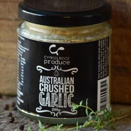 Australian Crushed Garlic 200g