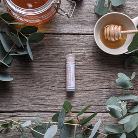 Manuka Honey · Vanilla Lip Balm Tube [LB1]