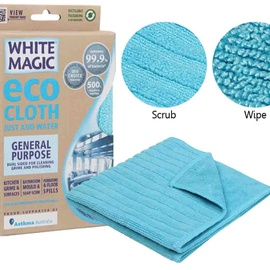 Microfibre General Purpose Cloth - White Magic